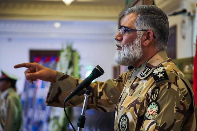 مراسم ختم سربازان شهید باحضور امیرپوردستان