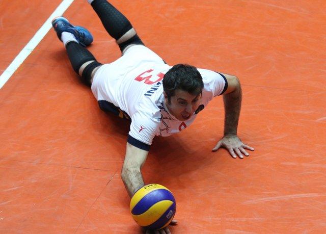 لیگ برتر والیبال - امیر حسینی