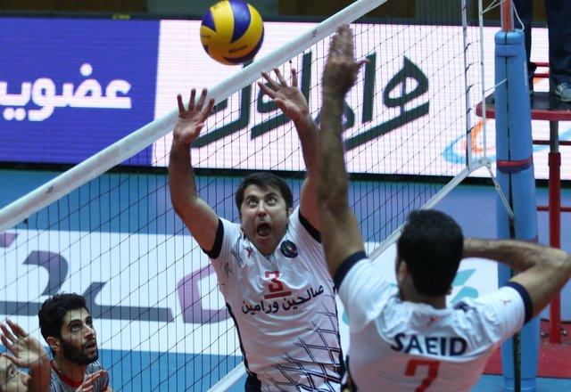 لیگ برتر والیبال - متین صالحین ورامین - امیر حسینی