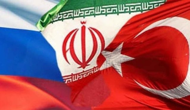 ایران و روسیه و ترکیه