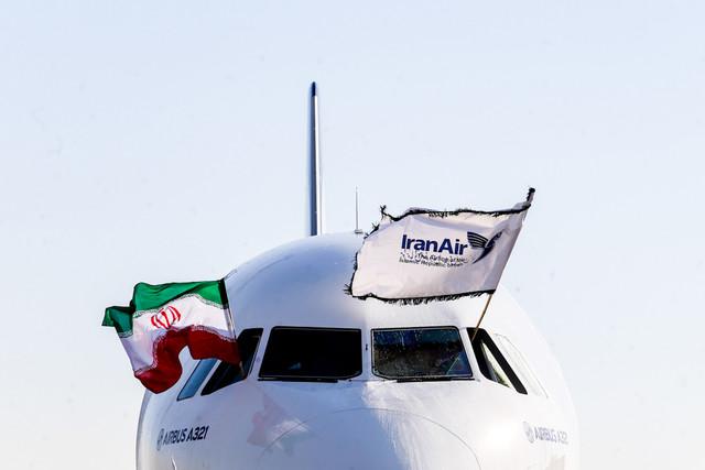تحویل اولین هواپیمای ایرباس ۳۲۱ به ایرانایر