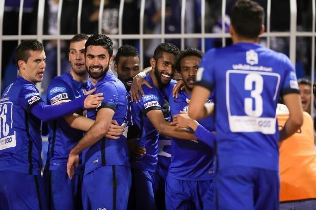 تیم فوتبال الهلال عربستان