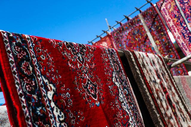 قالیشویی در آستانه نوروز - همدان