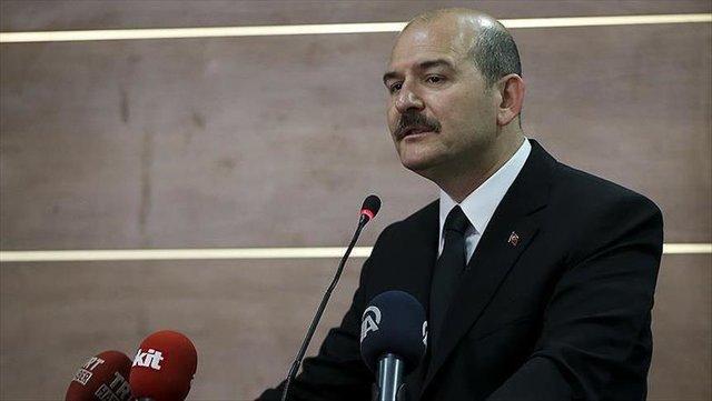 سلیمان سویلو، وزیر کشور ترکیه