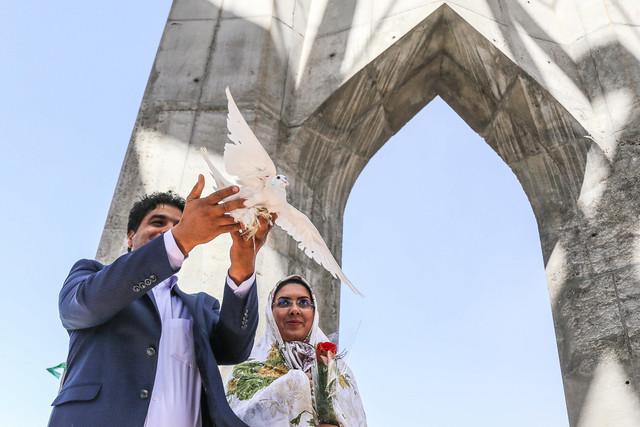 جشن ازدواج دانشجویی در دانشگاه علوم پزشکی تبریز