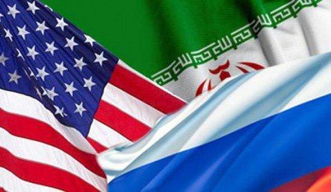 آمریکا، روسیه و ایران