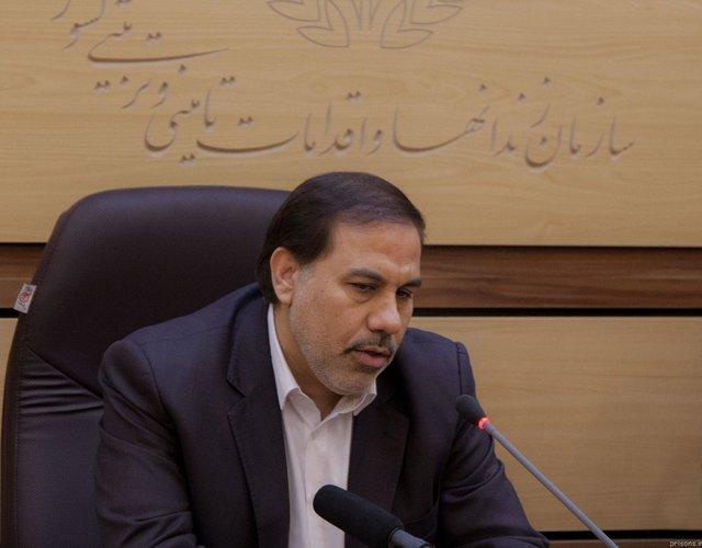 اصغر جهانگیر . رییس سازمان زندان ها