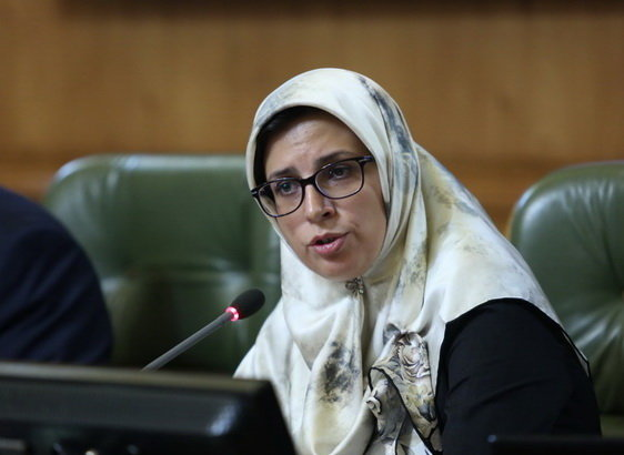 بهاره آروین عضو شورای شهر تهران