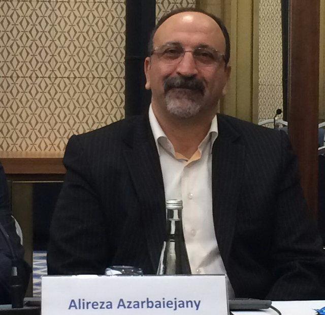 علیرضا آذربایجانی . حقوقدان