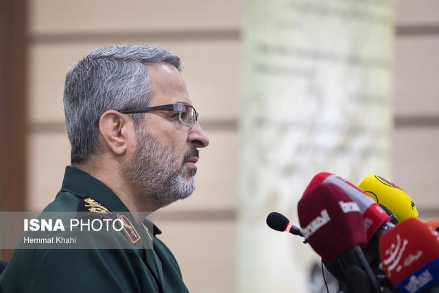 نشست خبری سردار غیب پرور رییس سازمان بسیج