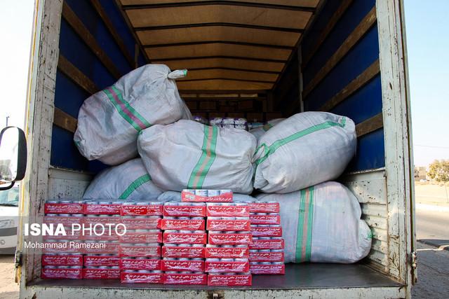 جمعآوری کمکهای مردمی برای آسیبدیدگان زلزله غرب کشور - خواف