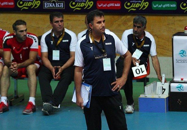 عباسعلی میر حسینی - سرمربی تیم والیبال خاتم اردکان
