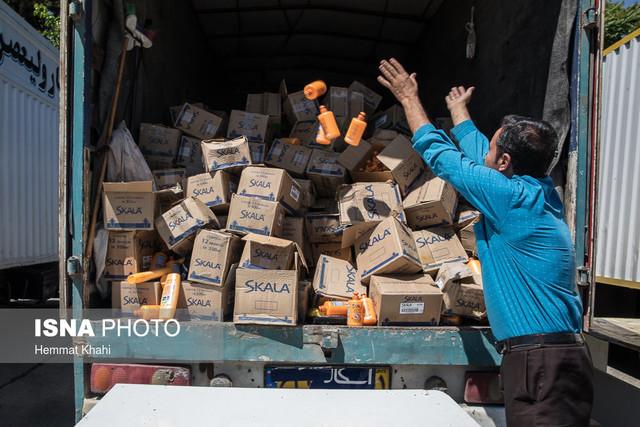 امحاء کالاهای قاچاق مکشوفه