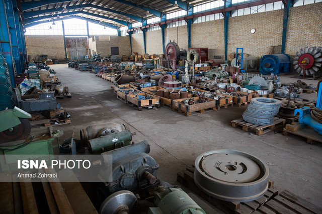 تعطیلی کارخانهها و کارگاههای تولیدی در شهرکهای صنعتی قم