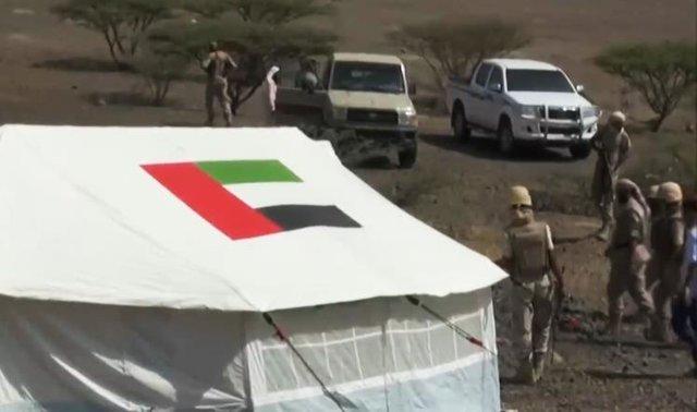 نیروهای اماراتی در سقطری