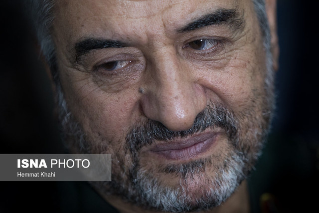 سردار سرلشگر محمدعلی جعفری در مراسم افتتاح بیمارستان تخصصی دندانپزشکی سپاه پاسداران