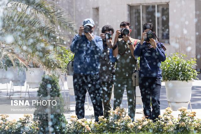 عکاسان خبری در حاشیه جلسه هیات دولت