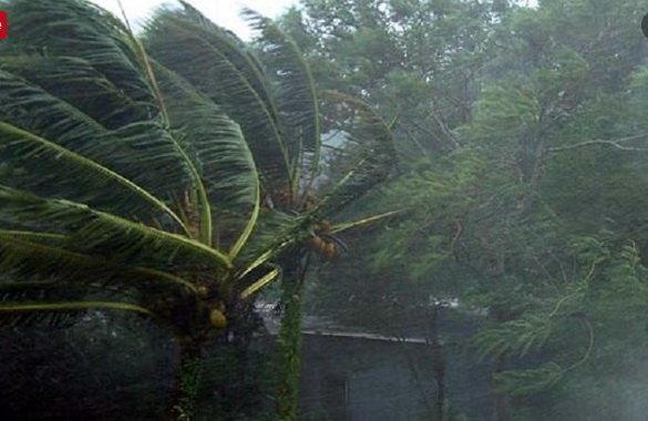 طوفان بارندگی باران تندباد