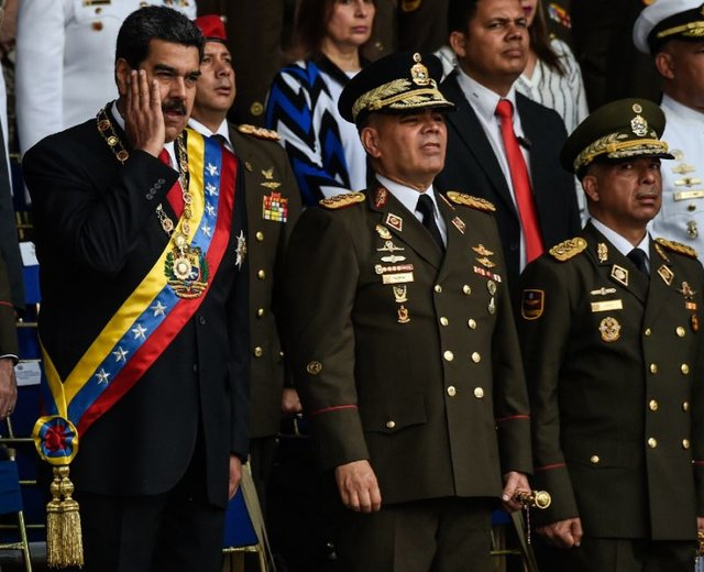 مادورو ارتش ونزوئلا