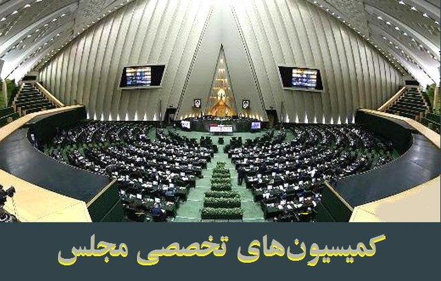 کمیسیونهای تخصصی مجلس