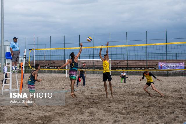 مسابقات والیبال ساحلی جوانان قهرمانی کشور