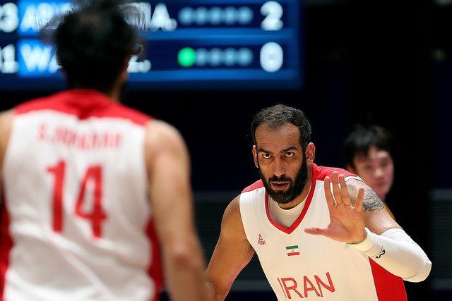 حامد حدادی تیم ملی بسکتبال ایران