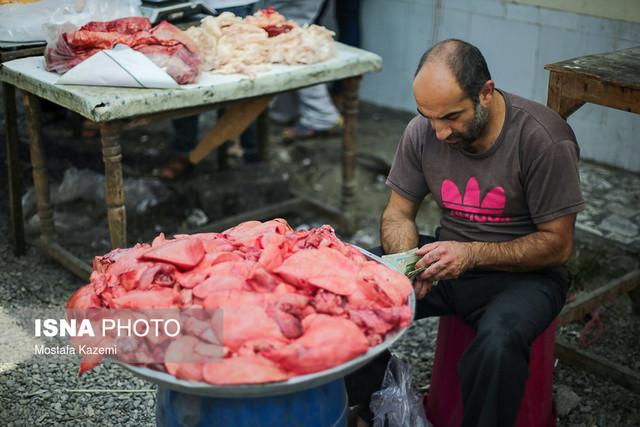 بازارچه قدیمی گوشت و کباب جویبار