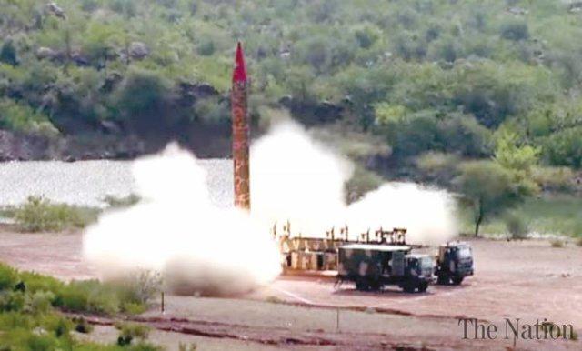 موشک غوری پاکستان