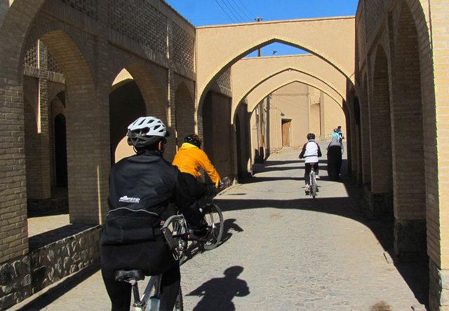 یزد، شهر دوچرخهها
