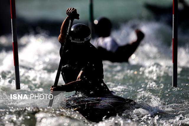 مسابقات قایقرانی اسلالوم آبهای خروشان جوانان آسیا - کرج