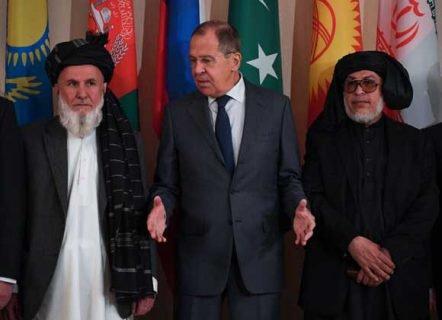 لاوروف در مذاکرات افغانستان