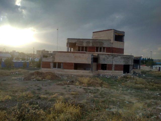 زلزله کرمانشاه- بیمارستان سر پل ذهاب