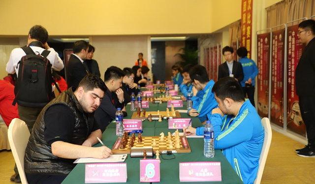 پرهام مقصودلو شطرنج
