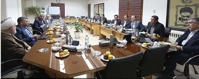 جلسه هیات امنای جهاد دانشگاهی