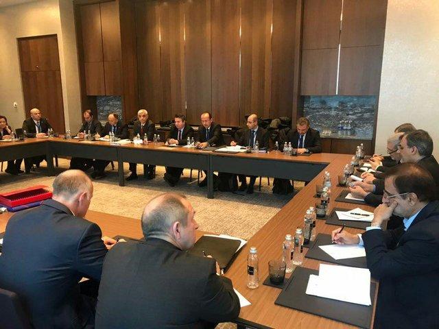 جلسه سهجانبه نمایندگان