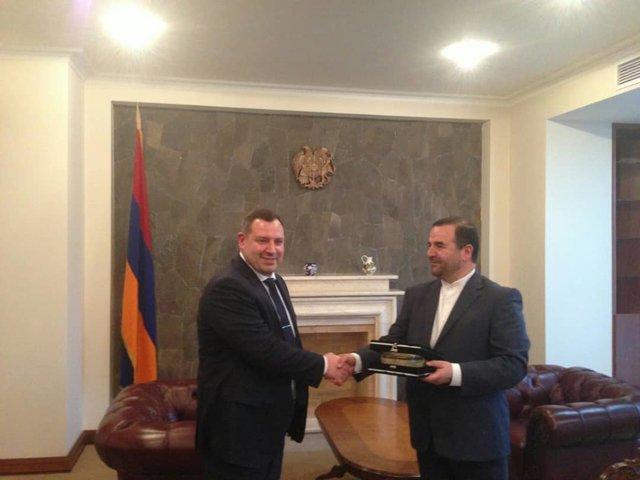 دیدار رئیس کمیته بازپرسی ارمنستان با معاون سازمان بازرسی ایران
