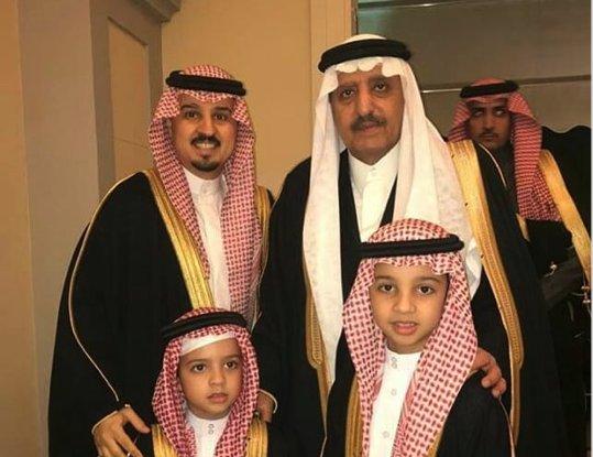 جشن عروسی سلطنتی با حضور بن نایف و احمد بن عبدالعزیز