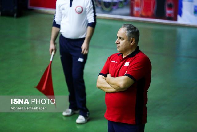 دیدار تیمهای والیبال پیام مشهد و پیکان تهران