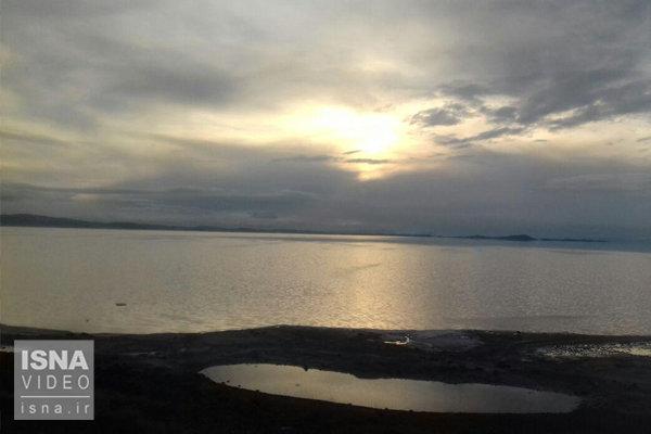 وضعیت این روزهای دریاچه ارومیه - آذر 1397