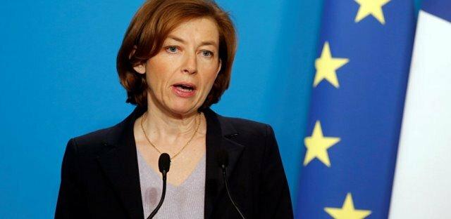 وزیر دفاع فرانسه