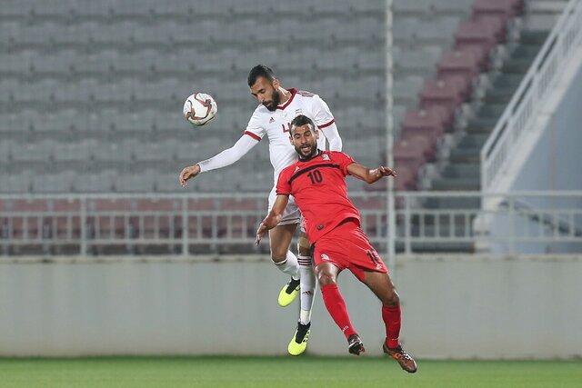 دیدار تیمهای ایران و فلسطین