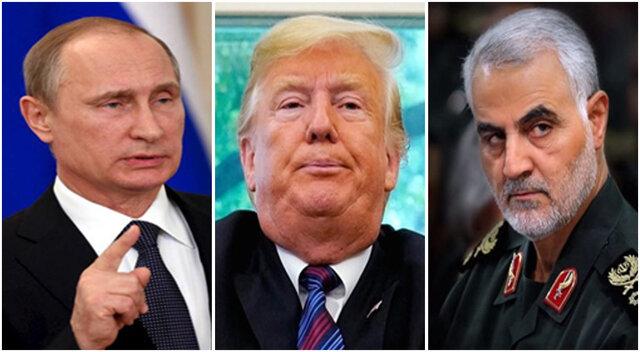 ترامپ ،پوتین و سلیمانی