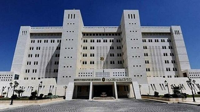 سفارت امارات در دمشق
