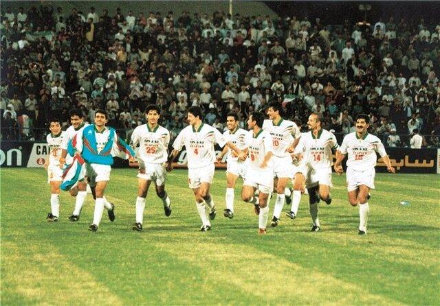 تیم ملی فوتبال ایران در سال 96