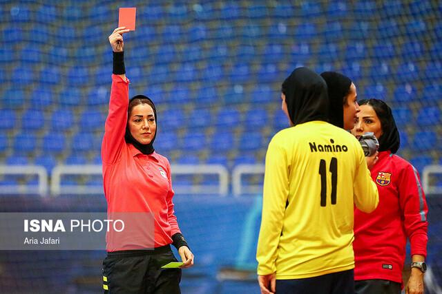 دیدار تیمهای فوتسال نامینو اصفهان و پویندگان فجر شیراز