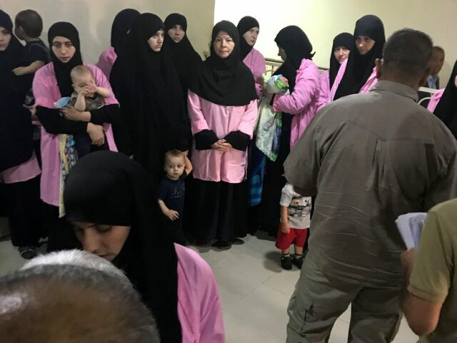 زنان داعش عراق
