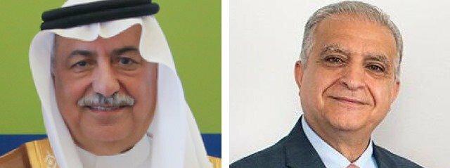 وزرای خارجه عراق و عربستان