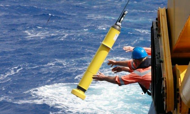 اقیانوس گرمای جهانی تغییرات اقلیمی