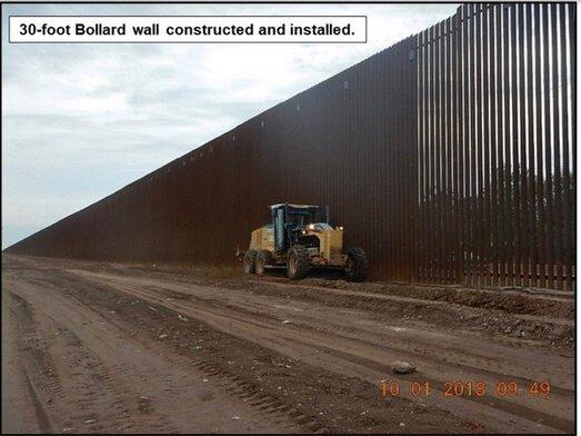 دیوار فلزی مکزیک و آمریکا