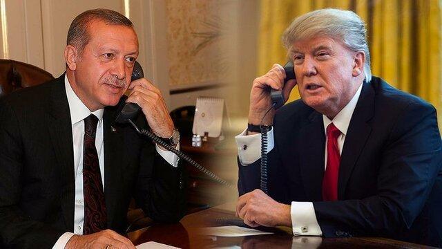 ترامپ اردوغان تلفنی